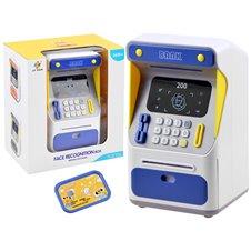 Bank Bankomat skarbonka dla dzieci PTP03998 Blue