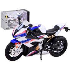DieCast Motocykl S1000RR dźwięk światło PTP03906 White