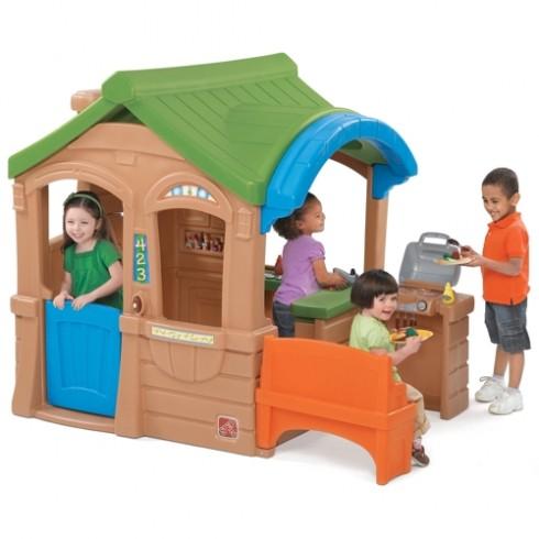 Žaidimų namelis su kepimo krosnele Step2 800100