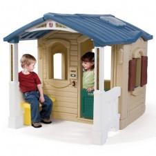 Žaidimų namelis su terasa Step2