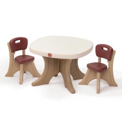 Stalo ir kėdučių rinkinys New Traditions Step2