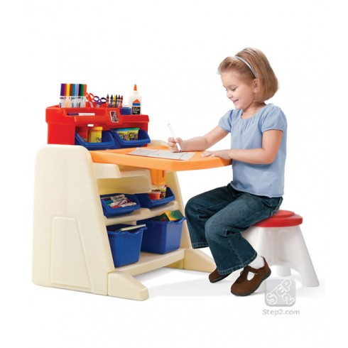 Stalas su kėde Flip & Doodle Step2