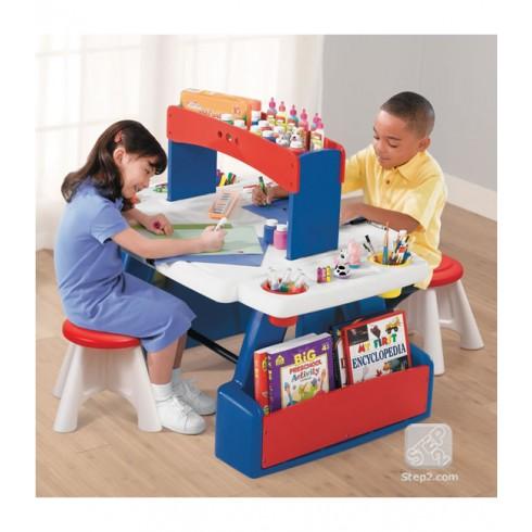 """Kūrybinių projektų stalas """"Creative Projects Table"""" Step2"""