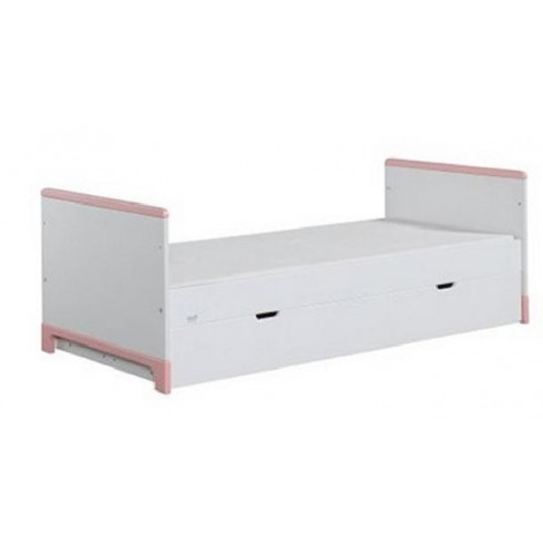 Lova Pinio Mini Junior su stalčiumi 160x70