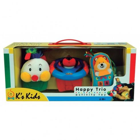 Žaislas ant vežimėlio K's Kids Happy Trio KA10444