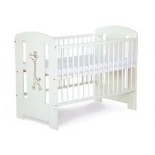 Кроватка Klupš Safari Белаяc Ящиком