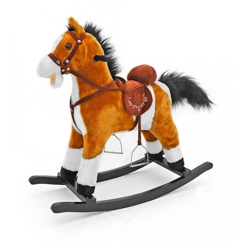 Muzikinis arkliukas M&M Mustang Light Brown