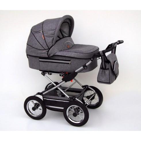 Universalus vežimėlis Baby Fashion Fanari pilkas