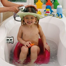 OKBABY apsauga nuo vandens galvos plovimui Hippo