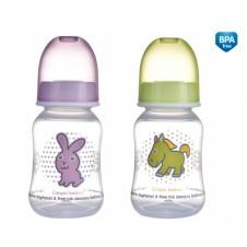 CANPOL buteliukas Transparent 3m+ 120ml 59/100
