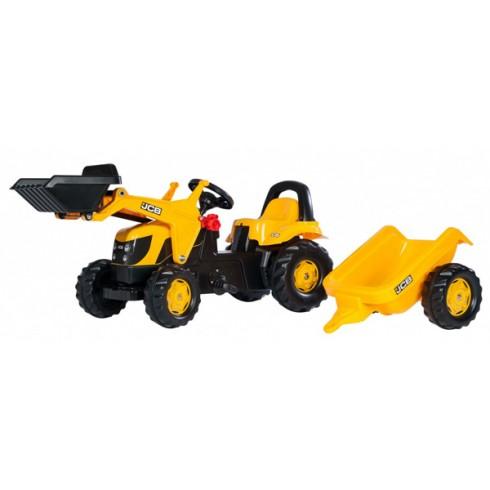 Traktorius Rolly Toys Kid JCB