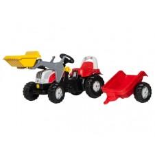 Rolly Toys Traktor Kid Steyr z Przyczepą Łyżką