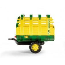 Rolly Toys Przyczepa Hay Wagon zielona