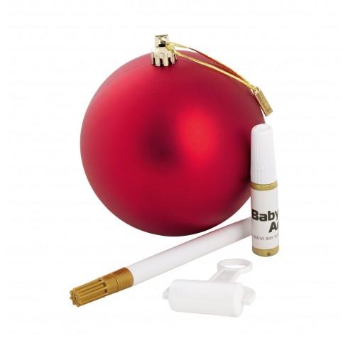 Kalėdinis žaislas - burbulas Baby Art