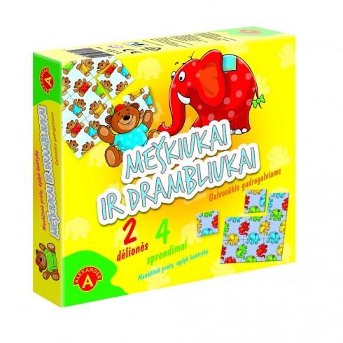 """Stalo žaidimas Alexander """"Meškiukai ir drambliukai"""""""