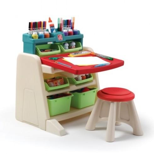 Stalas su kėde Step2 Flip & Doodle 836500