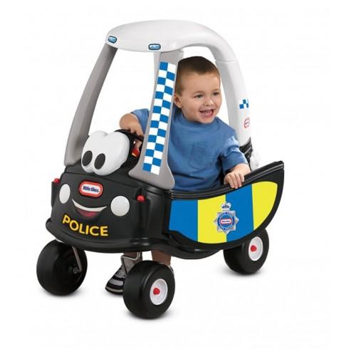 Paspiriamoji mašinėlė Little Tikes Cozy Coupe - Police/refresh 172984E3