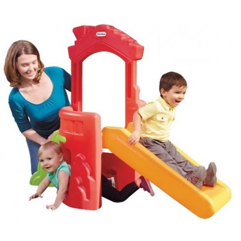 Мини-Горка Little Tikes Climb N Slide Playhouse - Rainbow 173080E3