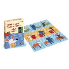 """Stalo žaidimas Logis """"Katė iš namų...pelės ant stalų"""" 10214"""