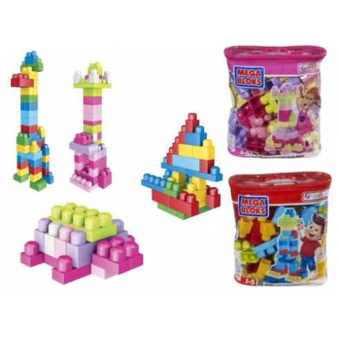Кубики Mega Bloks Maxi 60Шт.